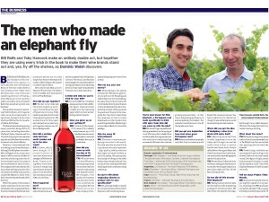 The men who made an elephant fly