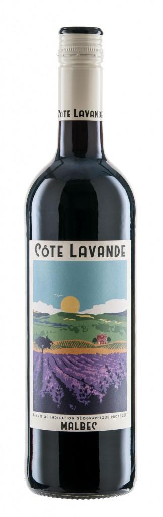 Bottle Shot Cote Lavande Malbec