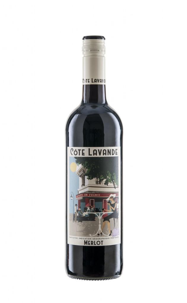 Bottle Shot Cote Lavande Merlot