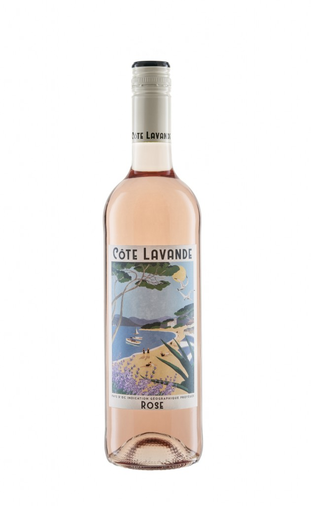 Bottle Shot Cote Lavande Rosé